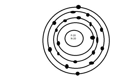 bohr diagram for calcium m4llory bohr model of calcium
