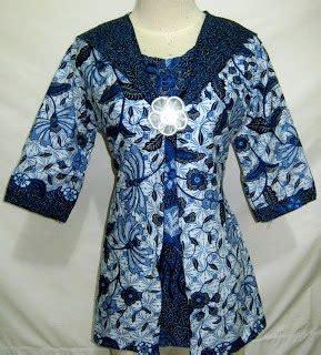 Dress Wanita Tila pin model blouse batik modern i8 pelautscom on