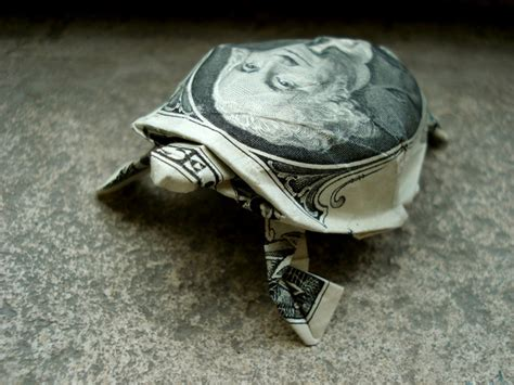 Dollar Bill Origami Turtle - tuan s origami page dollar bill origami billturtle3s