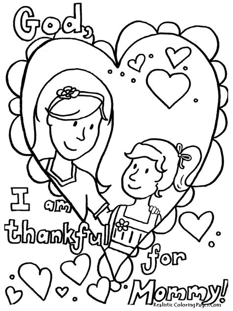 free mothers day cards coloring pages