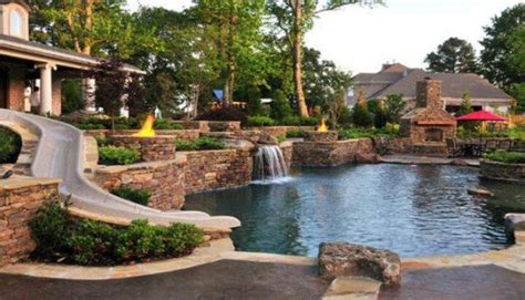 nice backyards nice backyard landscaping time pinterest