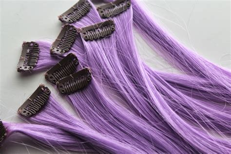 hair extensions purple wigs purple hair extensions review