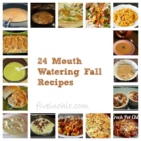 24 mouth watering fall dinner recipes