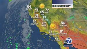 San Francisco Weather Map by San Francisco Bay Area Weather Forecast Abc7news Com