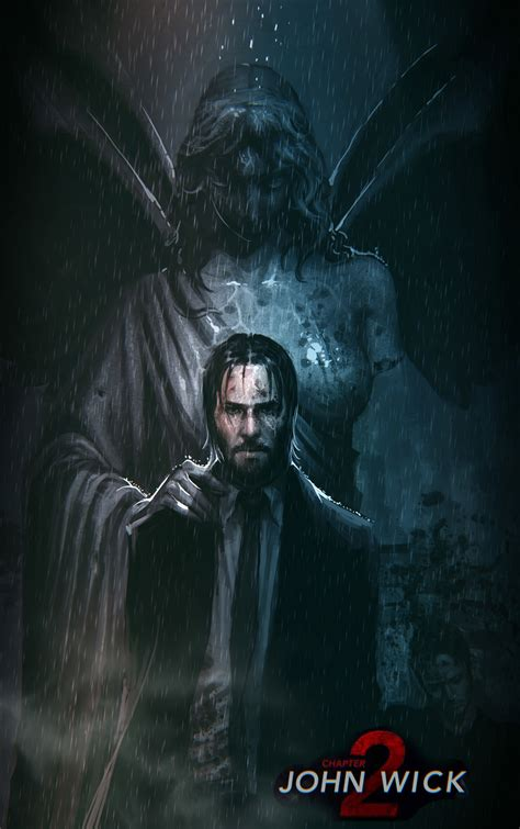 john wick tattoo wallpaper john wick chapter 2 fan art on inspirationde
