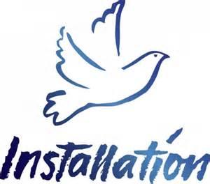 pastors installation service clipart