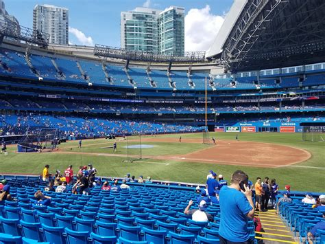 rogers centre section 115 toronto blue jays