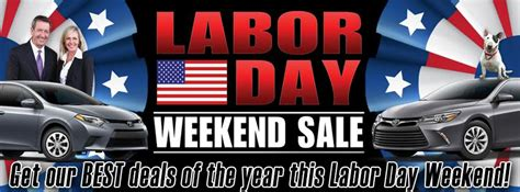 Toyota Labor Day Sale Shop For New Toyota Deals This Labor Day Toyota Of