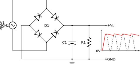 diode converts ac to dc power supply is a linear voltage regulator necessary in ac to dc electrical engineering