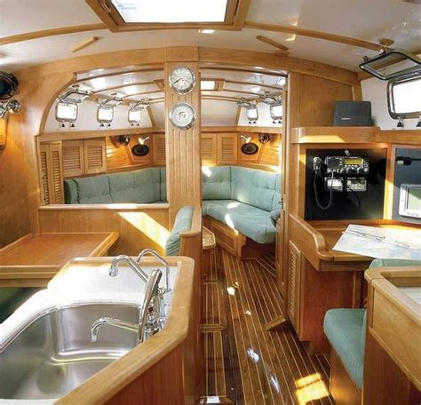 Boat Interior Design Ideas Beautiful And Comfortable Boat Interior Designs To Make