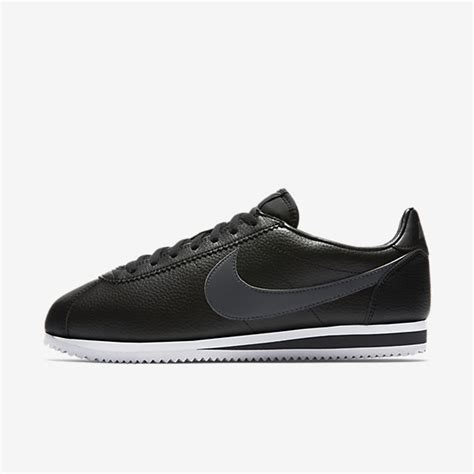 Nike Cortez Black Grey Original Sneaker For Mens nike classic cortez leather black white grey mens shoes sale