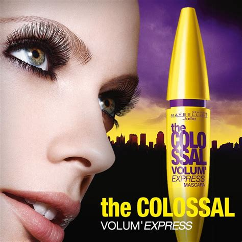 Maskara Maybelline Volume maskara maybelline the collosal volume express elevenia