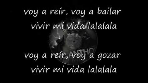vivir mi vida testo marc anthony vivir mi vida letra 2013