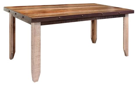 Dining Tables Direct International Furniture Direct 900 Antique Dining Table With Nailhead Accents Miskelly