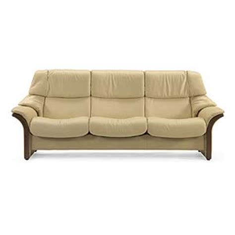 low back reclining sofa stressless by ekornes stressless eldorado low back
