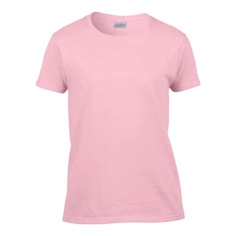 light pink shirt womens classic fit ladies t shirt gildan 2000l light pink