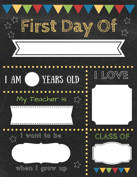 day of school sign template 1 15 day of school sign template 4gwifi me