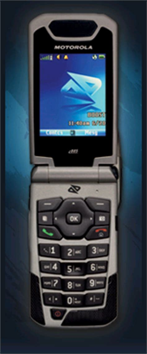 nextel  boost  contract cell phone idengsm
