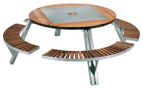 garden tables gargantua garden table adjustable table and bench set