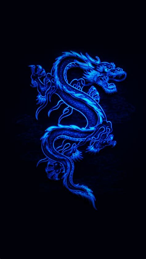 wallpaper blue mobile blue dragon 2 hd wallpaper for your mobile phone