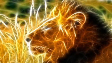 imagenes de leones fantasia fondo pantalla leon de fuego