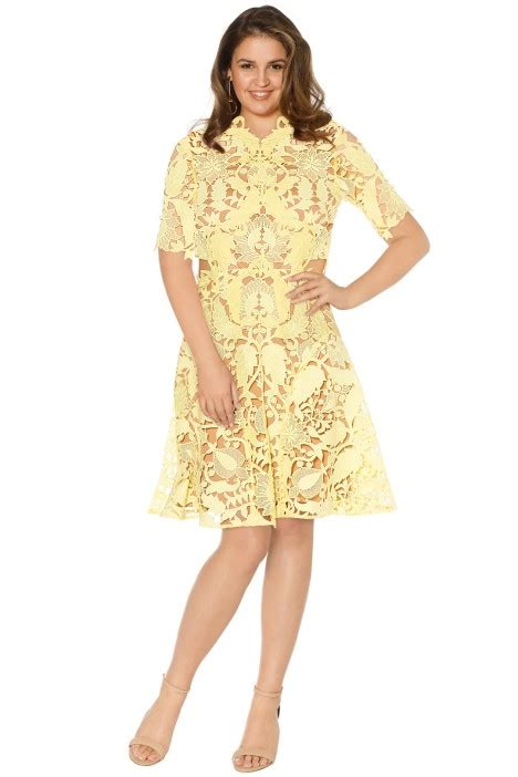 dandelion mini dress by thurley for rent
