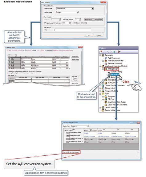 Mitsubishi Software gx works2 mitsubishi software