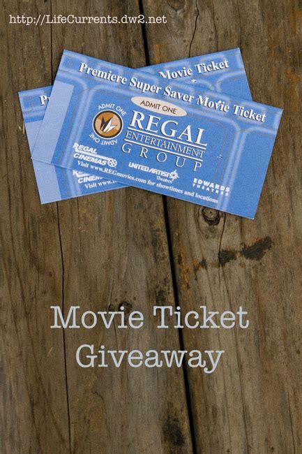 Movie Ticket Giveaway - movie ticket giveaway life currents