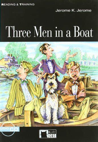 libro rt three men in a boat cd di jerome