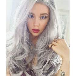 best hair color for gray 16 ways to rock the gray hair color trend
