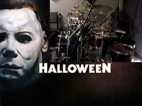 halloween theme music youtube halloween michael myers theme song drum cover youtube