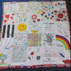 Baby Shower Crafts For Guests To Make by Baby Shower Idea Your Guest Design A Quilt Square