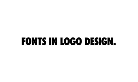 logo design font download 10 solid fonts to use in logo design and exles in use