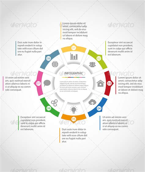 15 Circle Infographic Template Images Infographic Circle Template Free Infographic Circle Circle Infographic Template