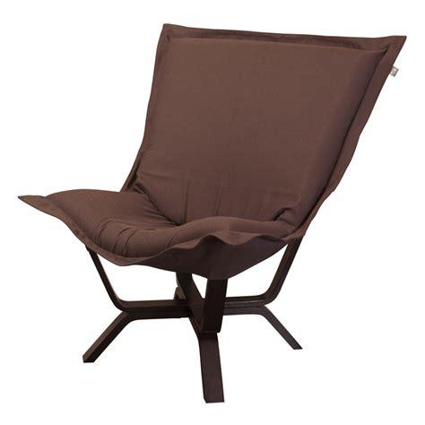 sterling chocolate milan puff chair rosenberryrooms