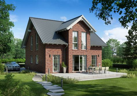 familienhaus esprit klinker kern haus klinkerfassade - Klinker Haus