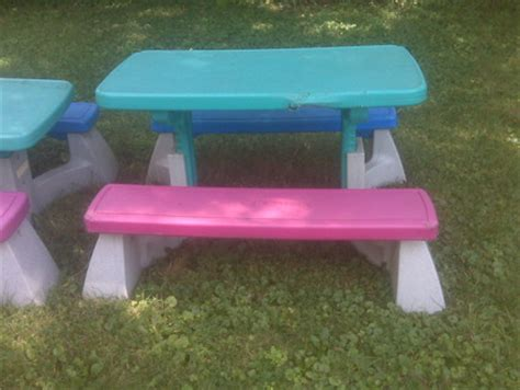 fisher price picnic table free fisher price adjustable picnic table kids other