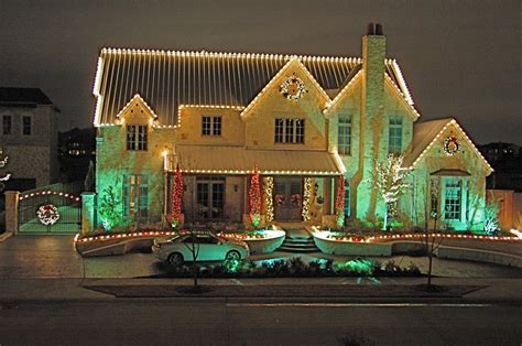 christmas lights from dallas on the ground lights green landscaping design lawn maintenance dallas and ne tarrant
