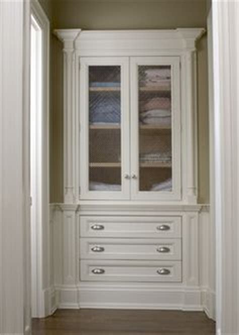 built in bathroom linen cabinets eudy s cabinet manufacturing master vanity with built right in on pinterest linen closets built ins and linen storage