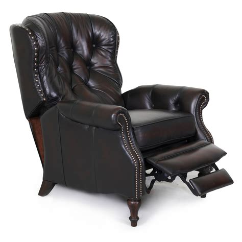 reclinable chair barcalounger kendall ii recliner chair leather recliner