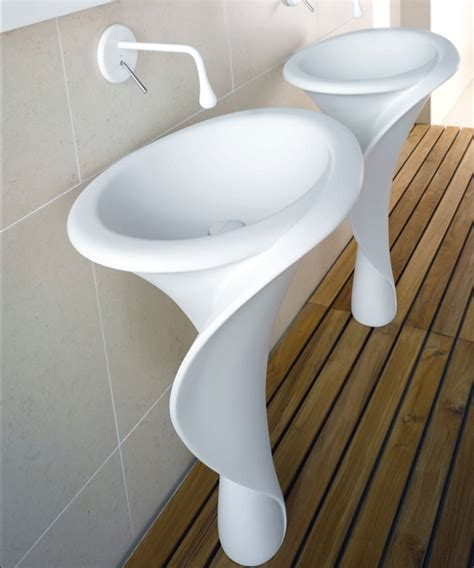 The Organic Bedroom organic bathroom sink shape