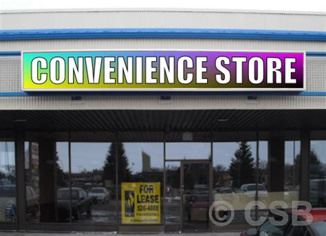 lighted box signs wholesale calgary cabinet signs light box we make and put up