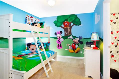 mickey mouse clubhouse bedroom ideas in the vacation home 7754 teascone blvd kids will enjoy