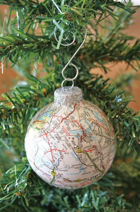 gifts and home decor 25 diy map crafts for gifts and home decor