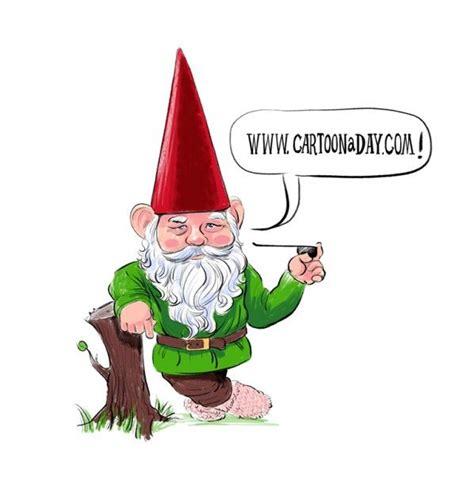 Garden Nome by Cartoon Garden Gnome Daily Cartoons Pinterest