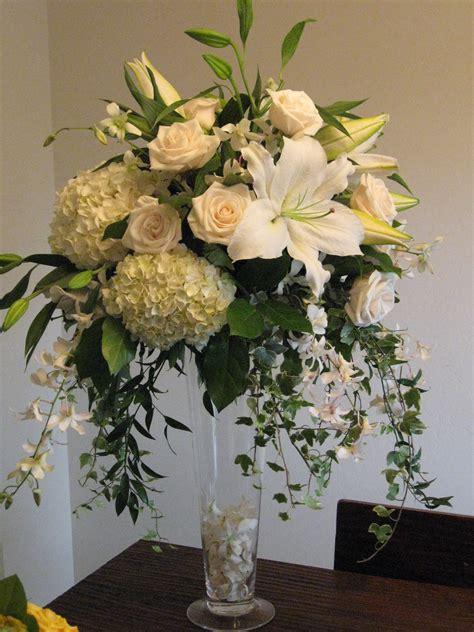 roses and hydrangeas centerpieces eletragesi dendrobium orchid centerpiece images