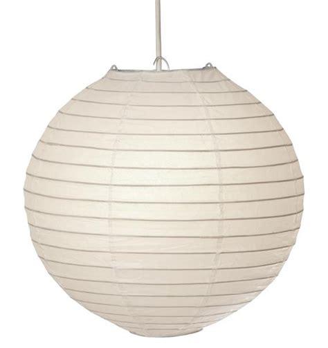 oaks white globe 18 quot paper lamp shade 0001 18wh oaks