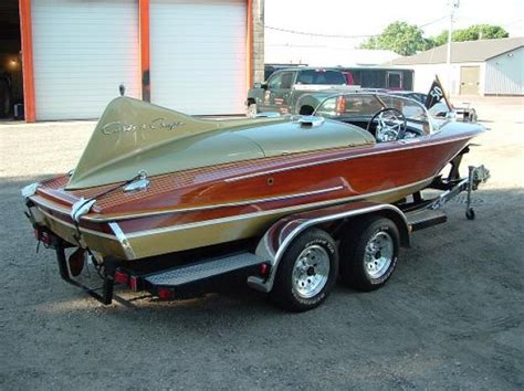 chris craft boats vintage 1955 18ft chris craft cobra classic wooden boats for