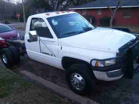 dodge 3500 cab and chassis purchase used 2000 dodge ram 3500 cab and chassis clean