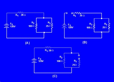 shorted resistor in a parallel circuit effects of open and circuits
